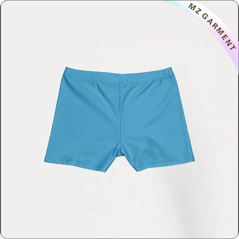 Girl Powder Blue Aqua Booty Shorts