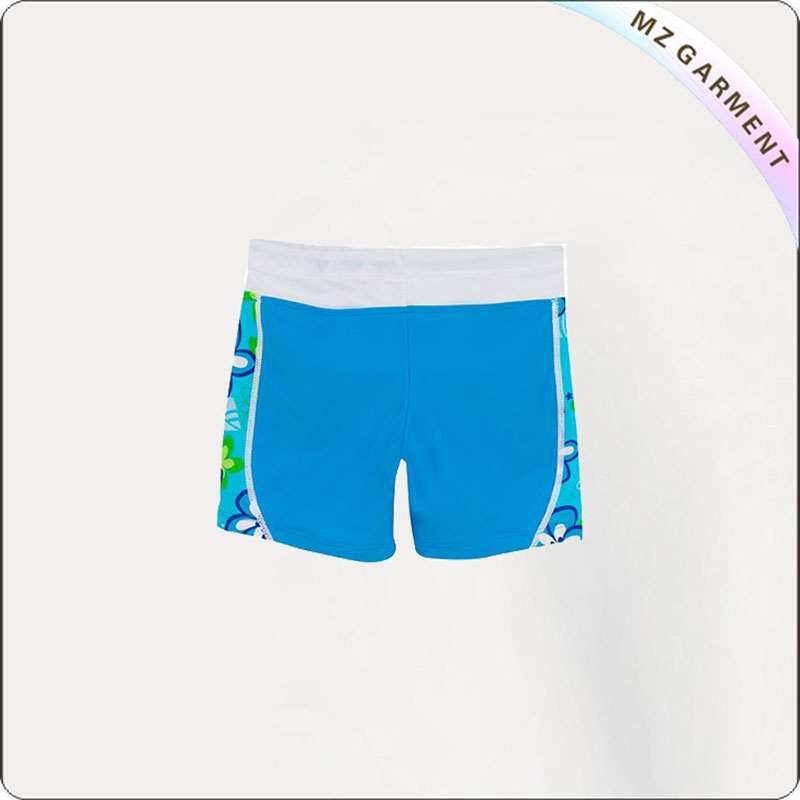 Girl Ultra Light Swim Boyshorts Bottom