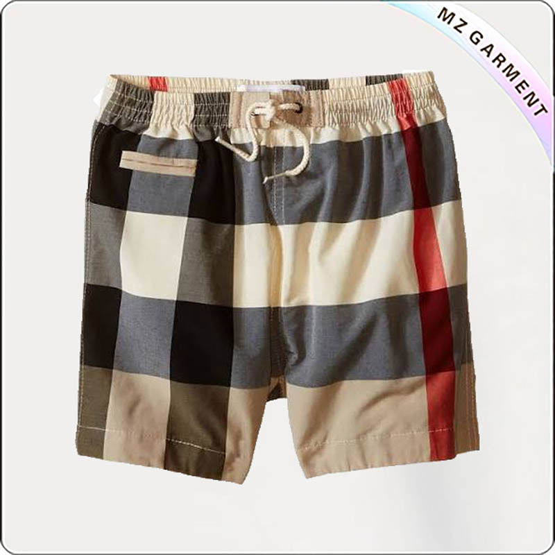 Boys Drawcord Beach Short Pants