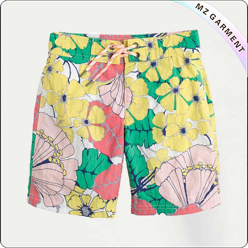 Boys Lotus Bathing Trunks