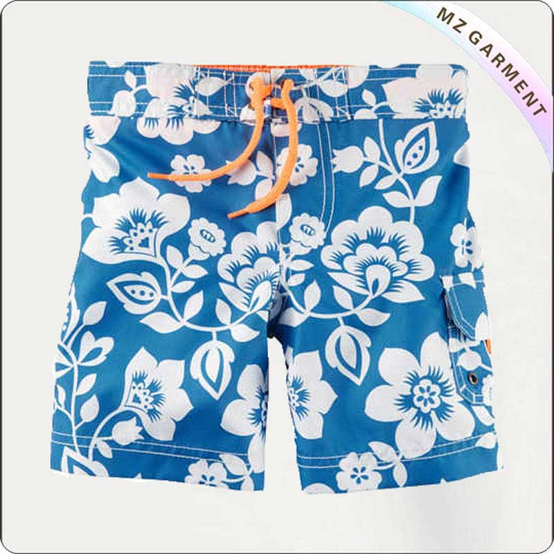 Boys Minimum Blue Swim Trunks