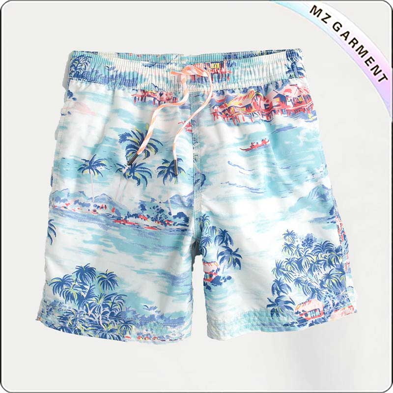 Boys Scenery Beach Short Pants