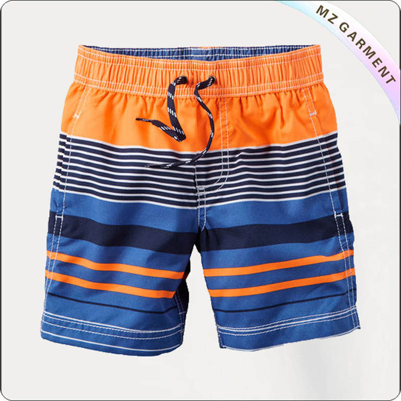 Boys Striped Beach Short Pants