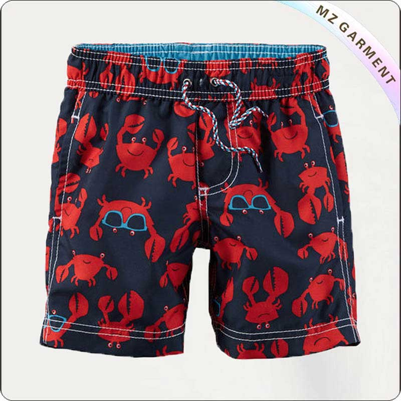 Boys Sunglasses Beach Shorts