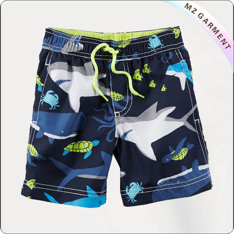 Kids Water Resistant Board Shorts