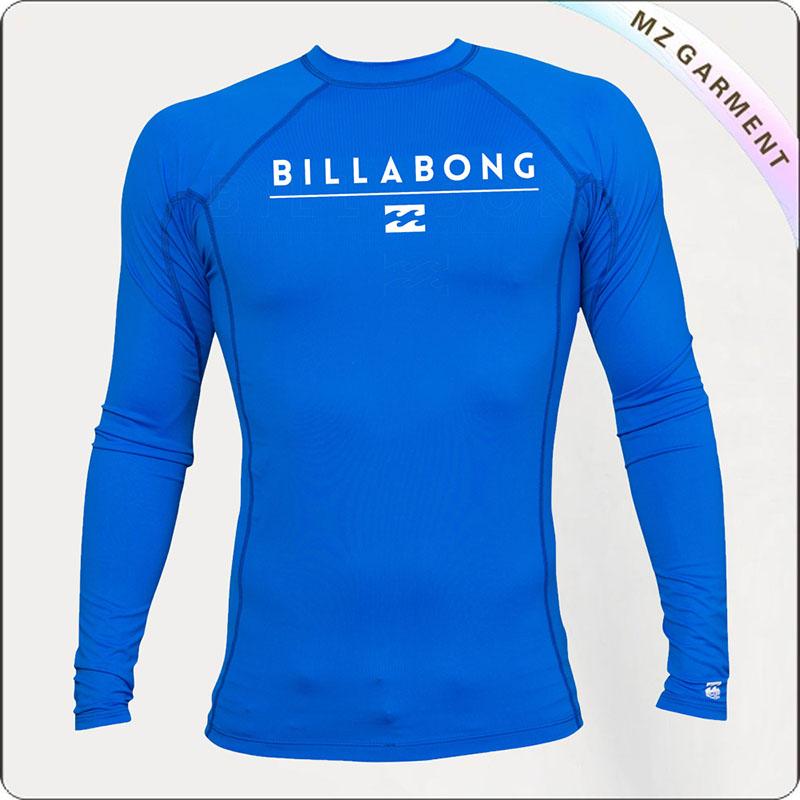 Boy Royalblue Sun Protective Racing T-Shirt