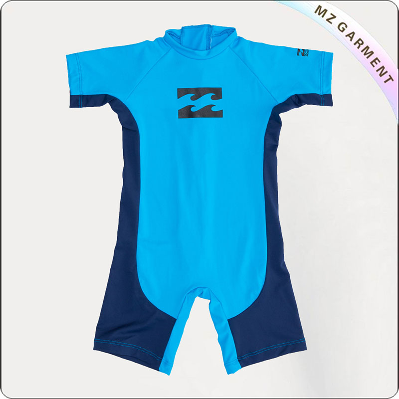 Boy Sun Protective Competition Romper