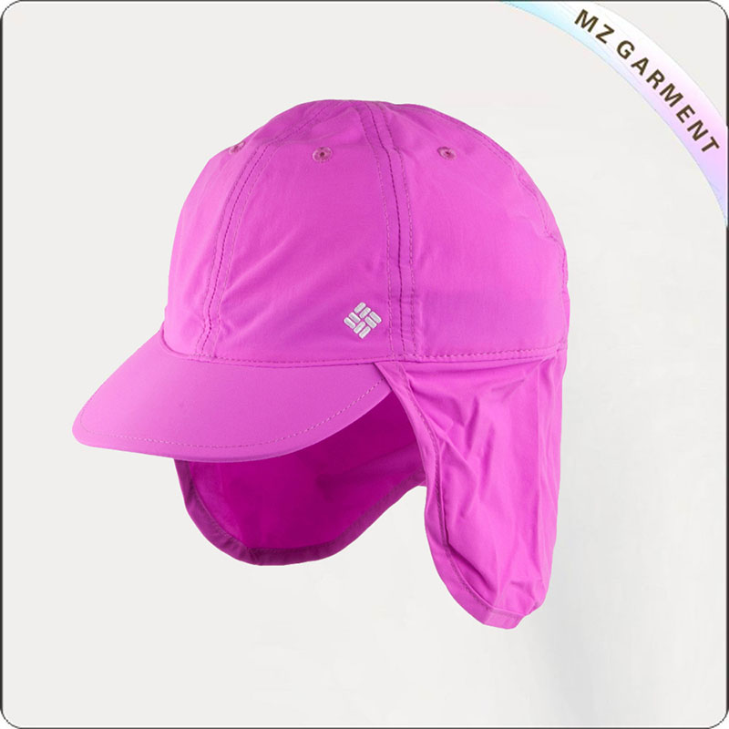 Kids Candy Pink Sun Cap
