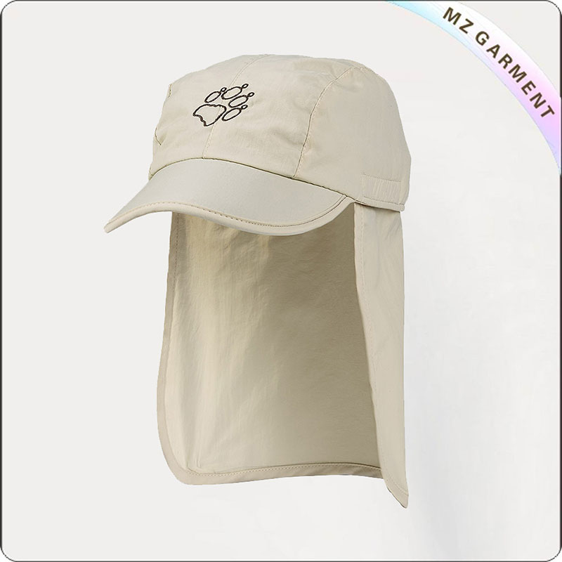 Kids Oyster White Beach Hat