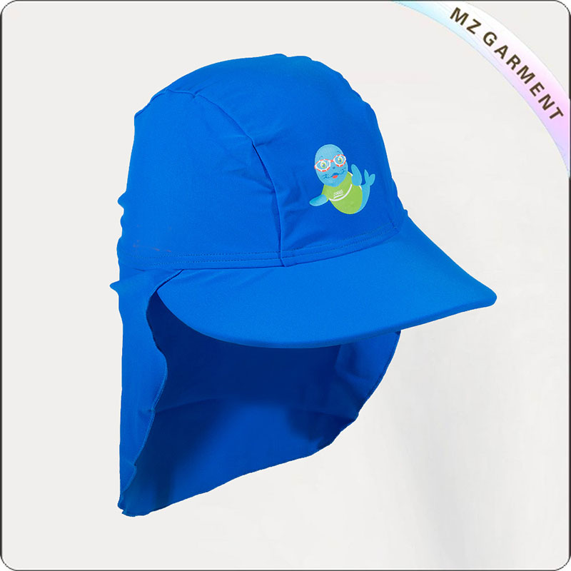 Kids Royal Blue Sun Hat