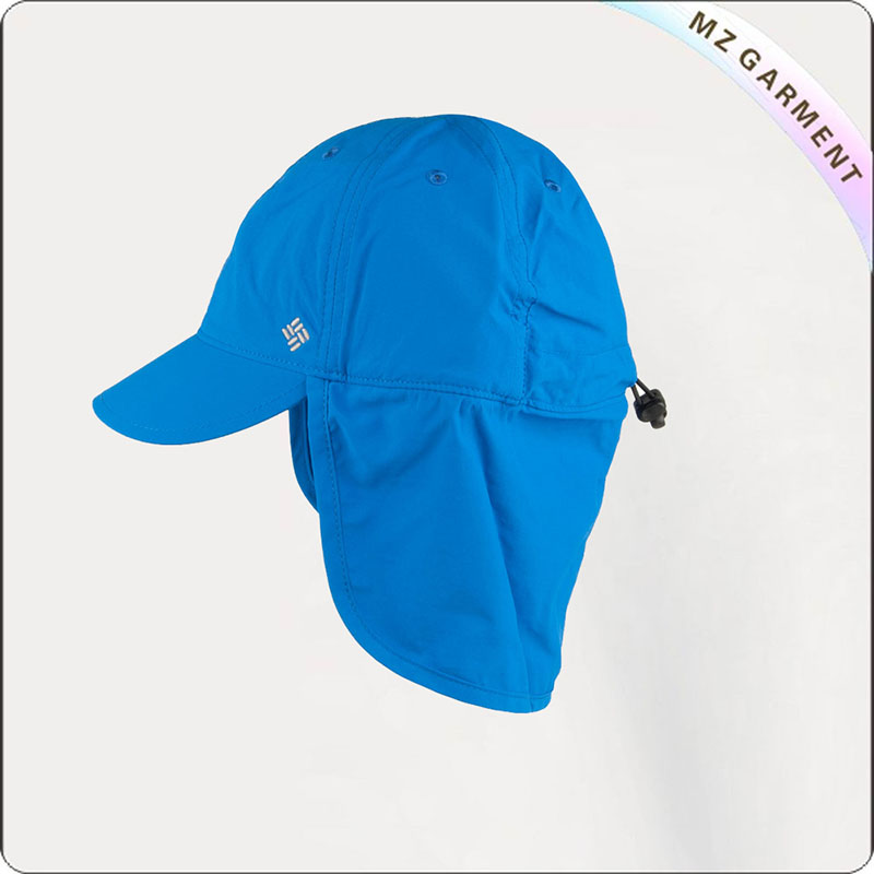 Kids Thirsty Blue Beach Hat