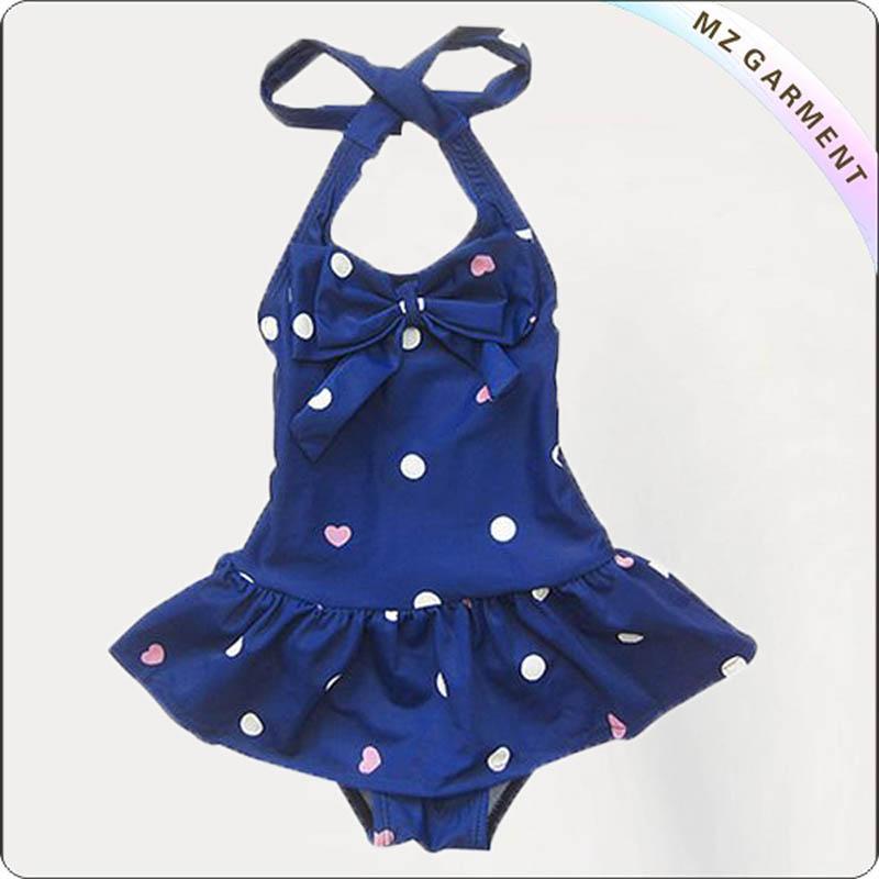 Kids Doted Beach Dress