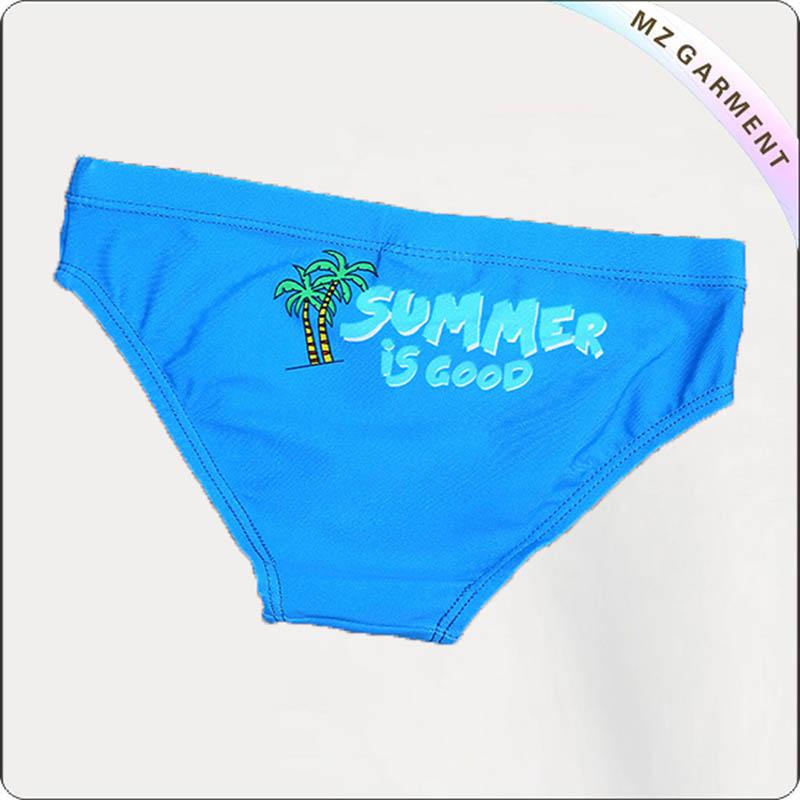 Boy Bluish Swim Boyshorts