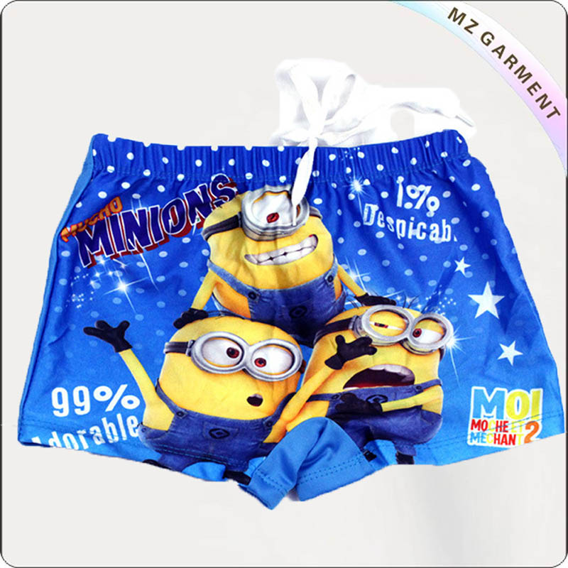 Boy Minion Booty Shorts