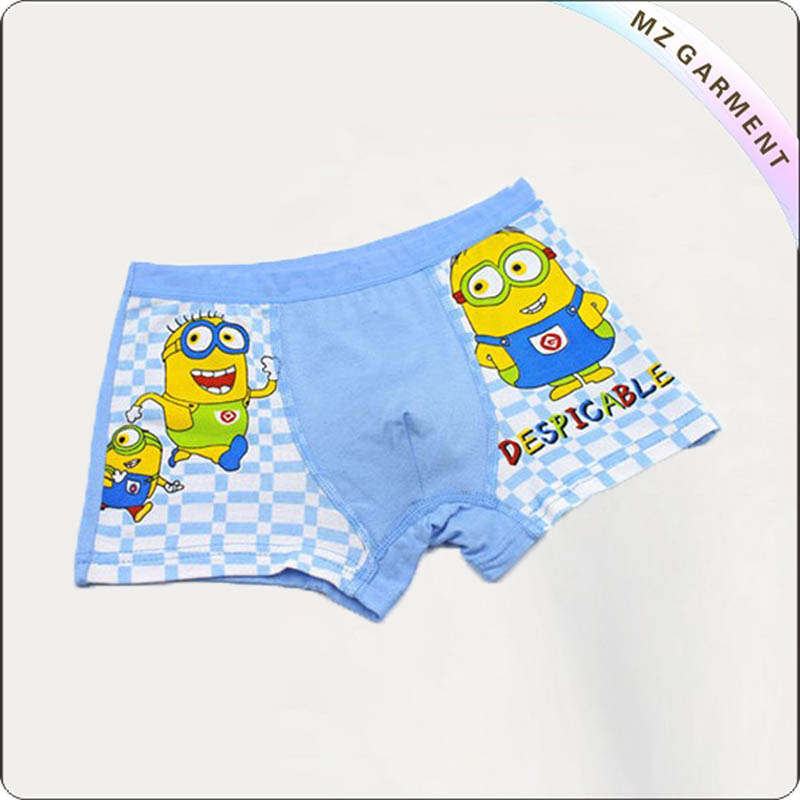 Boy Powderblue Aqua Boyshorts