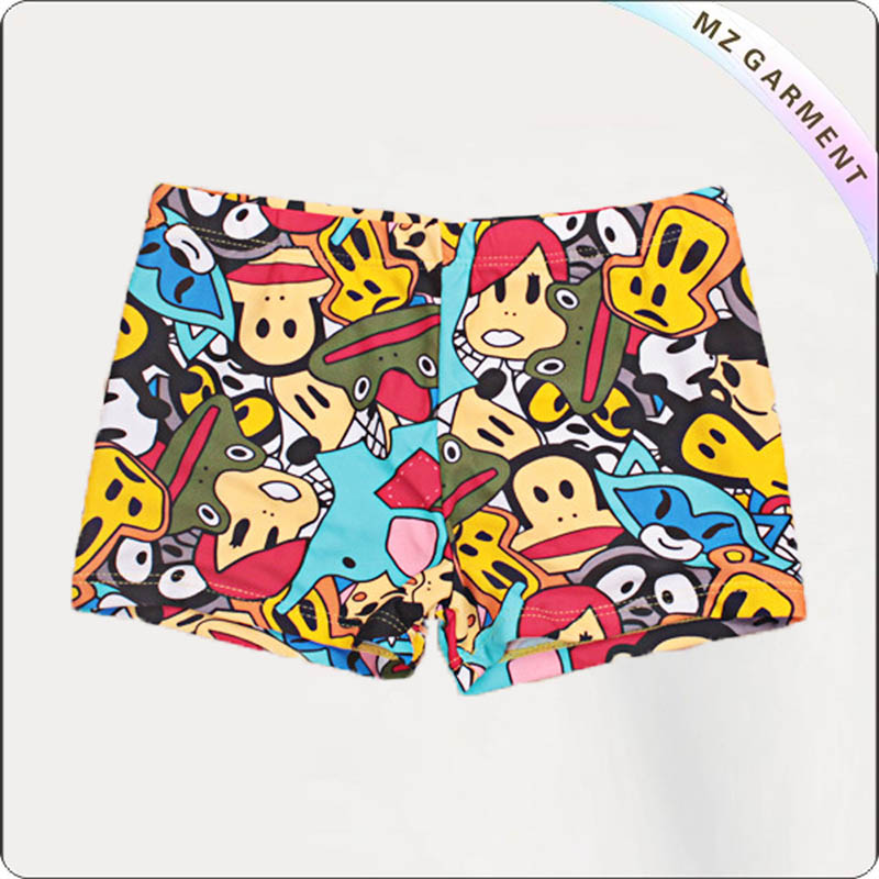 Boy Sporty Beach Brief