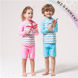 Kids Bathing Suits, Made of Nylon & Elastane, Different Sizes