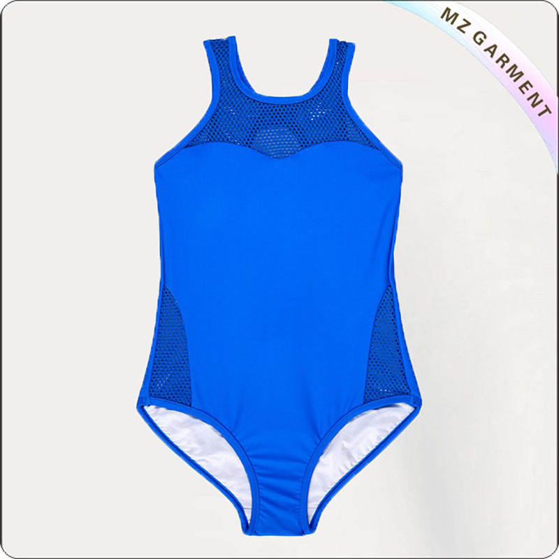 Kids Mesh Competition Swimsuit