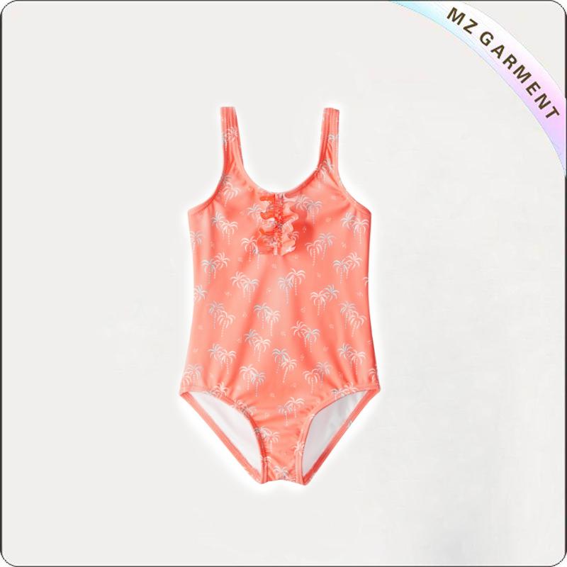 Kids Palmy Tiny One Piece Swimsuit 80% Nylon 20% Elastane