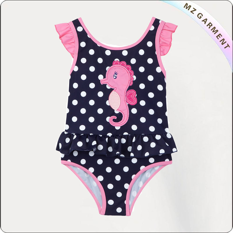 Kids Sea Horse Swimwear
