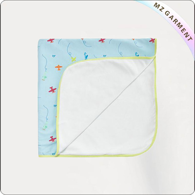 Girls Reversible Bluish Blanket