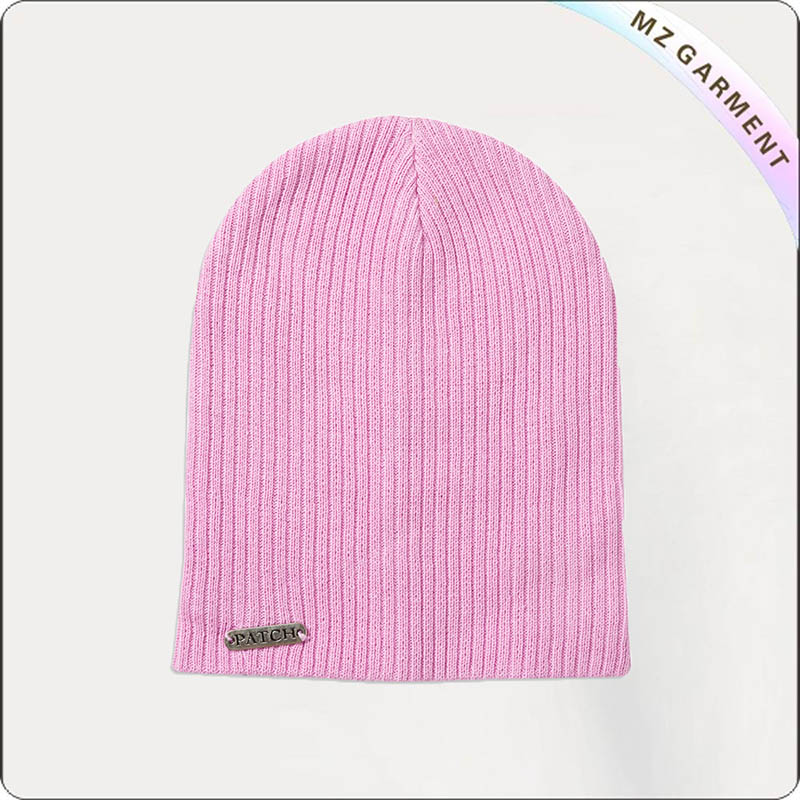 Kids Candy Stripe Knit Cap