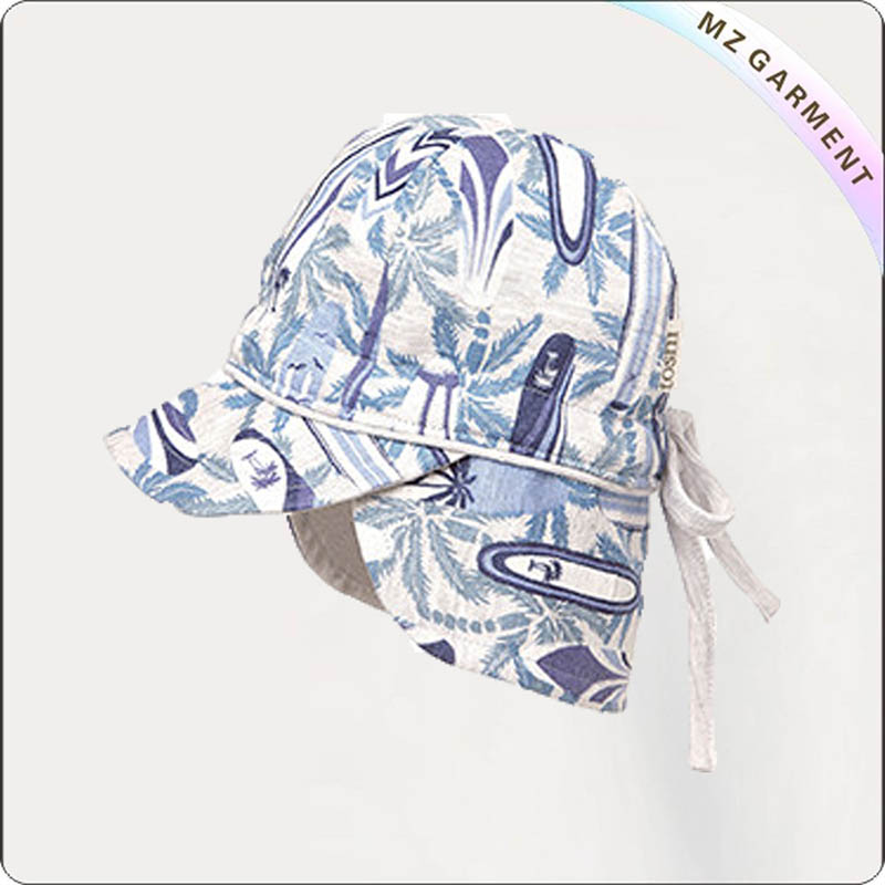 Kids Foliage Design Hat