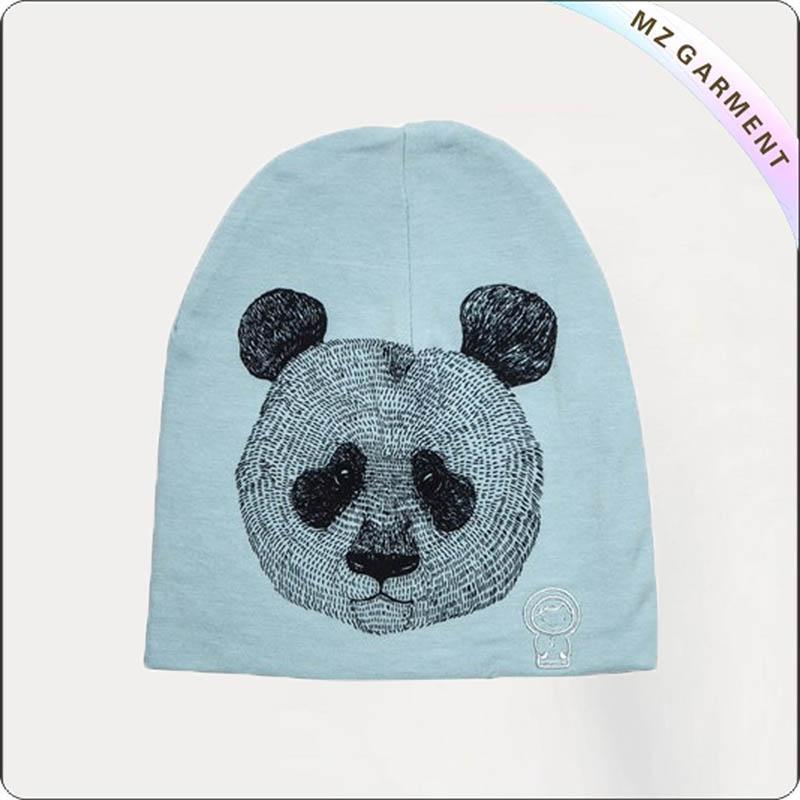 Kids Panda Skullcap