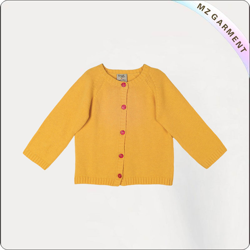 Baby Apricot Cardigan