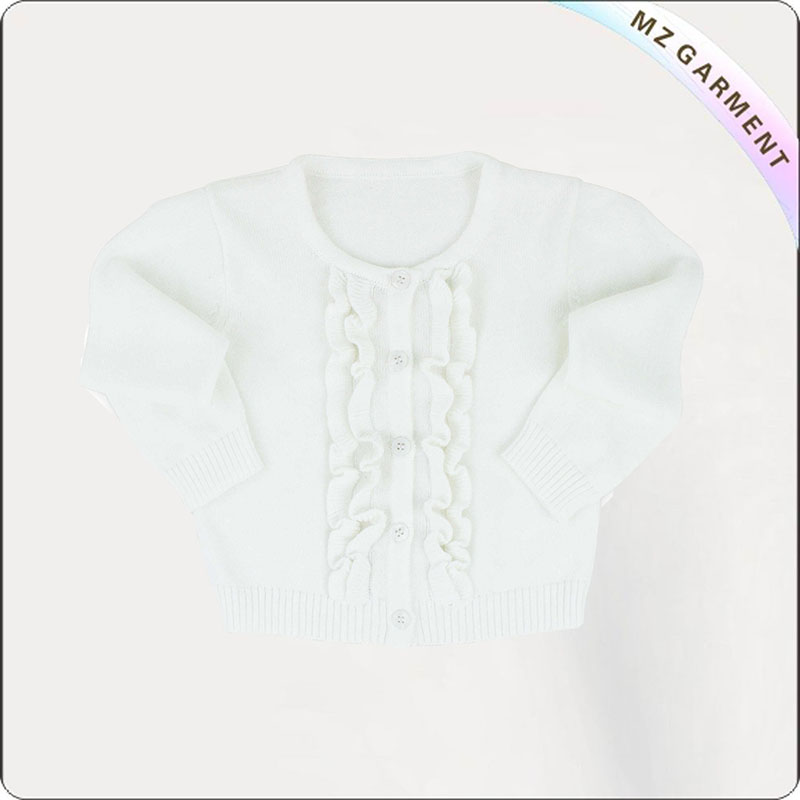 Girls Snow White Cardigan