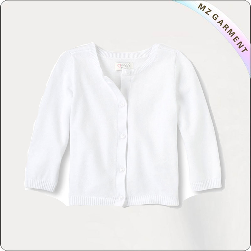 Kids Brilliant White Cardigan