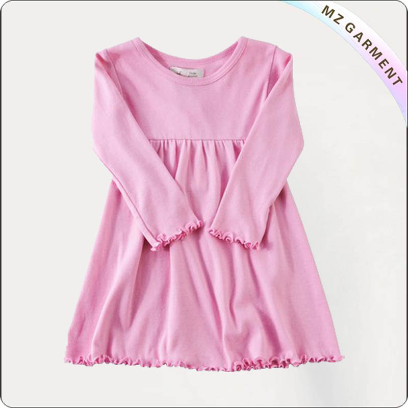 Girls Candy Pink Swing Dress