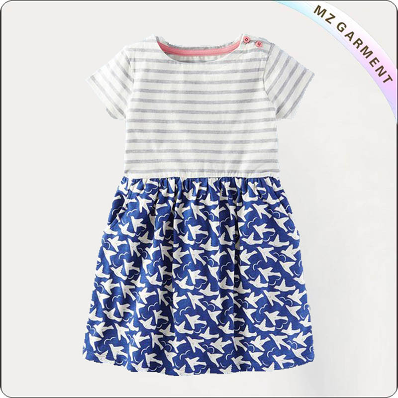 Girls Pigeon Dress