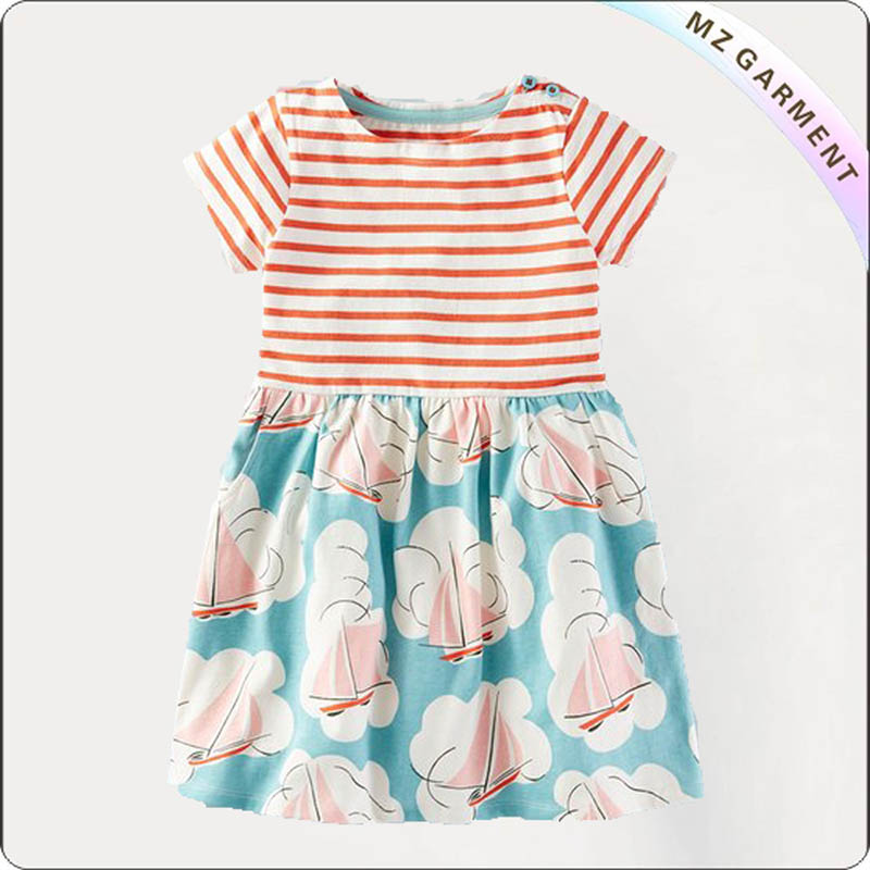 Girls Sailboat Skirt