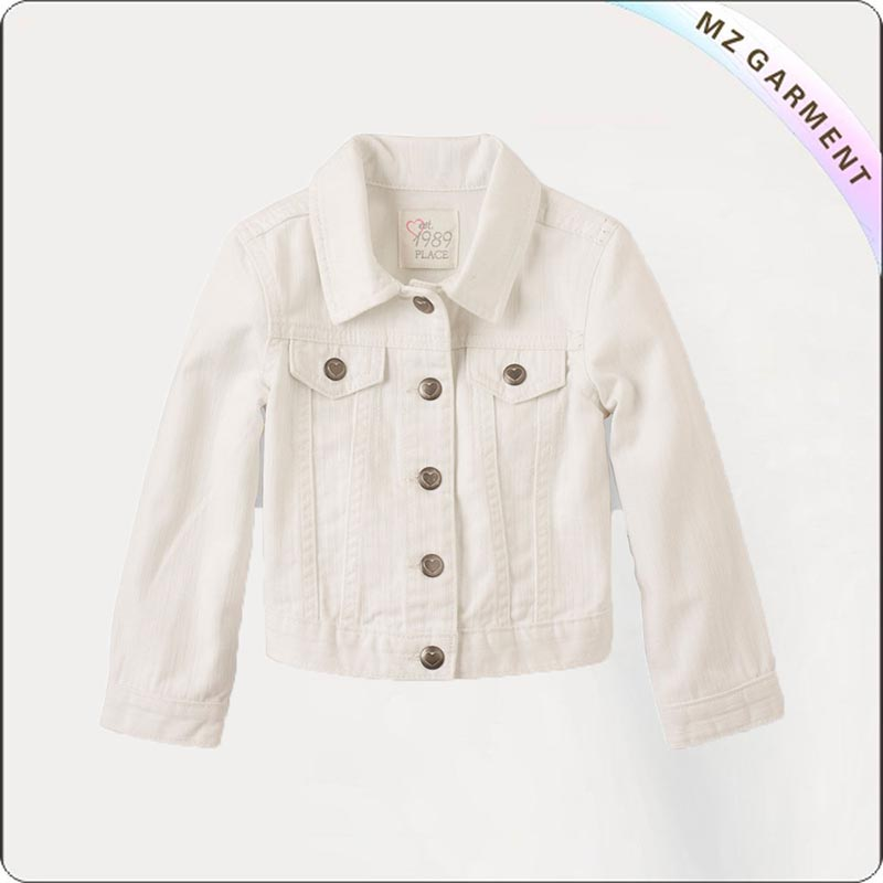 Children Creamy White Outerwear