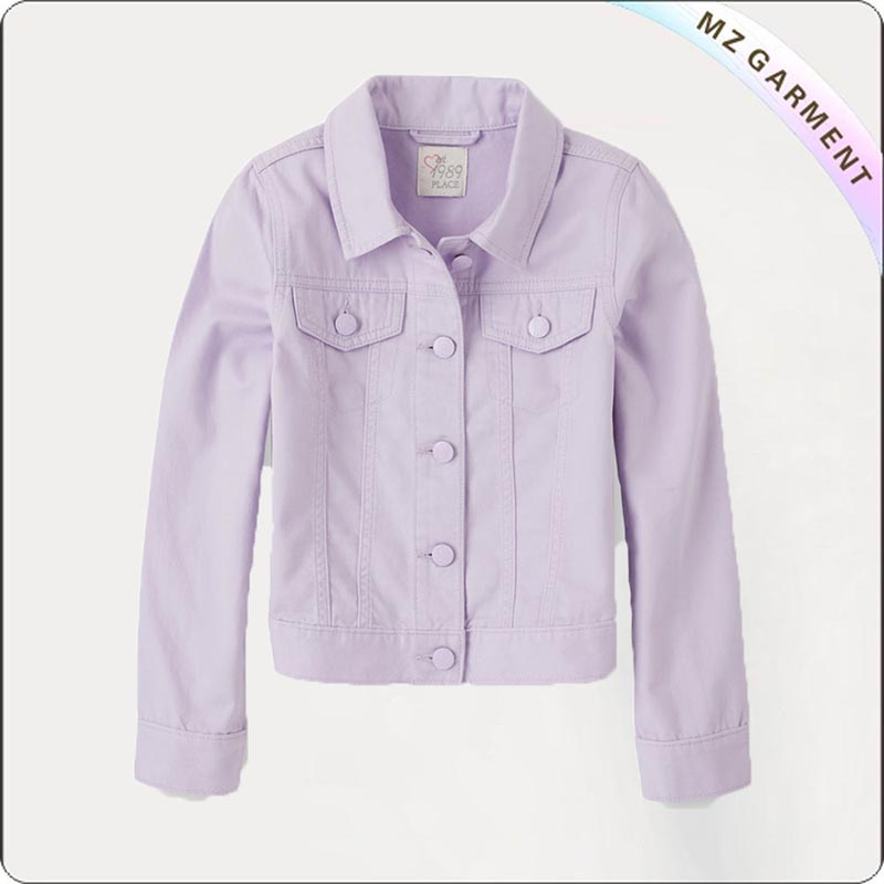 Children Lavender Jacket