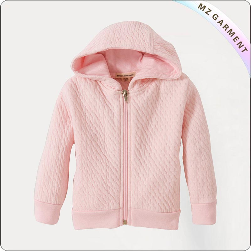 Kids Rose Quartz Bomber Jacket
