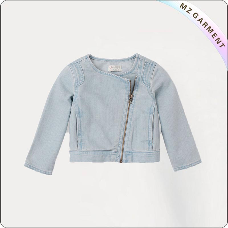 Kids Shawl Collar Jacket