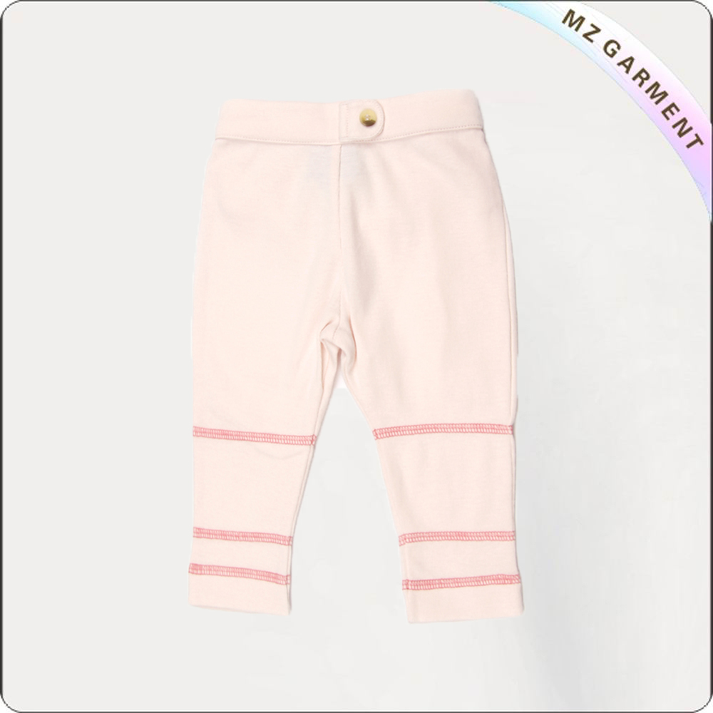 Girls Buttercream Cropped Legging