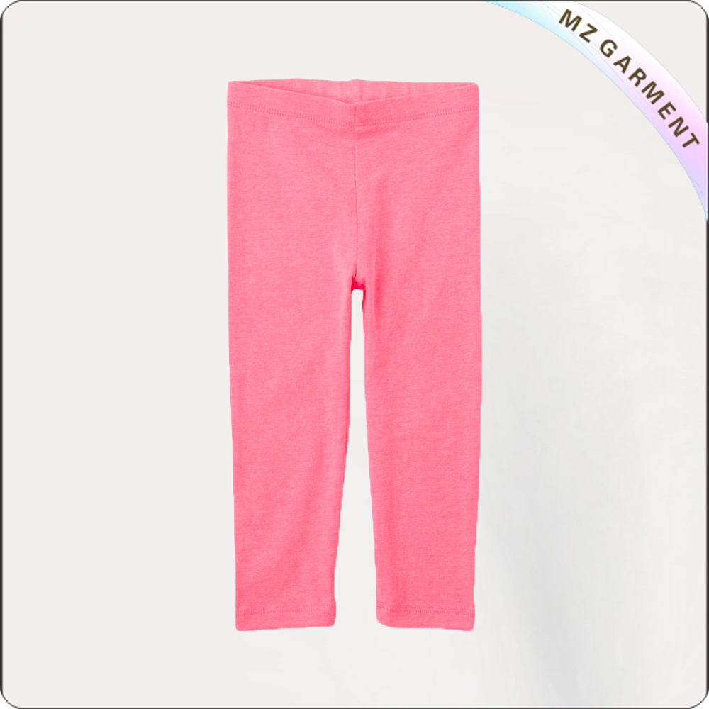 Girls Rose Pink Skinny Pants
