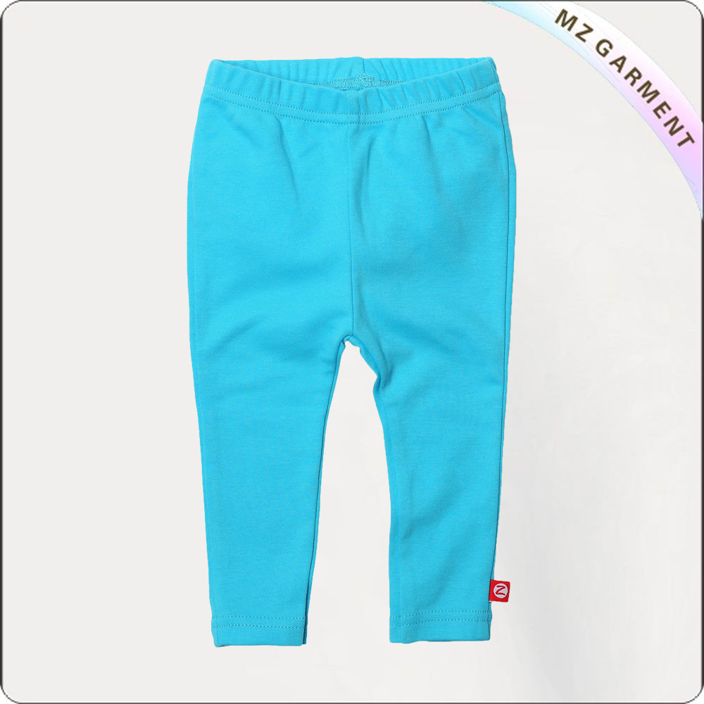 Kids Aquamarine Blue Legging