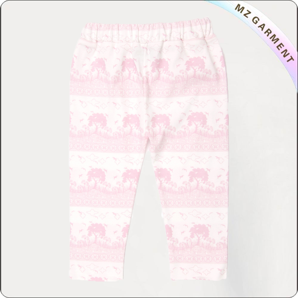 Kids Stripe Capri