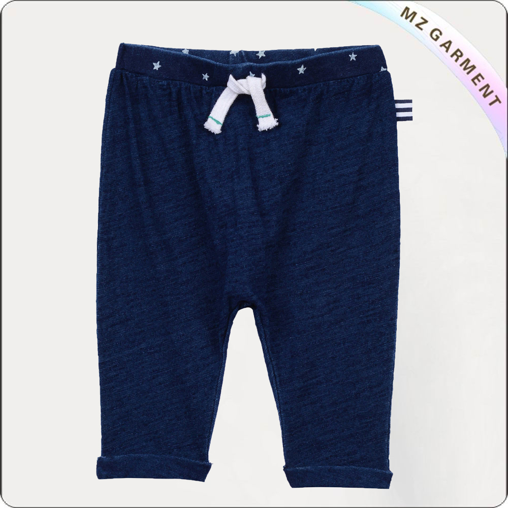 Boys Navy Capri
