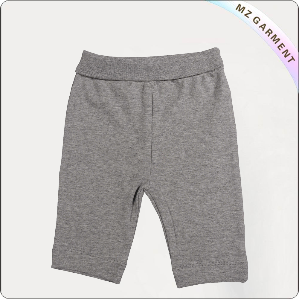 Girls Charcoal Grey Knee Jogger