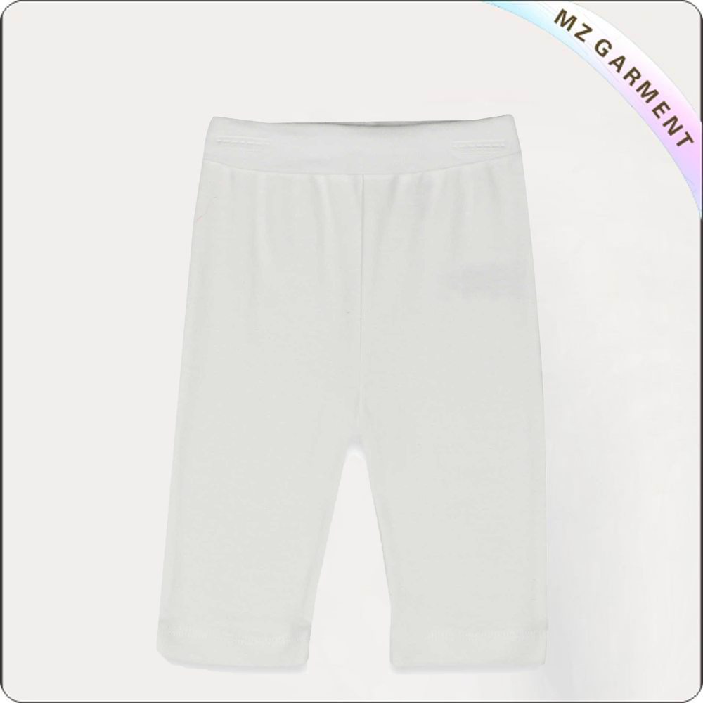 Girls Snow White Cropped Trousers