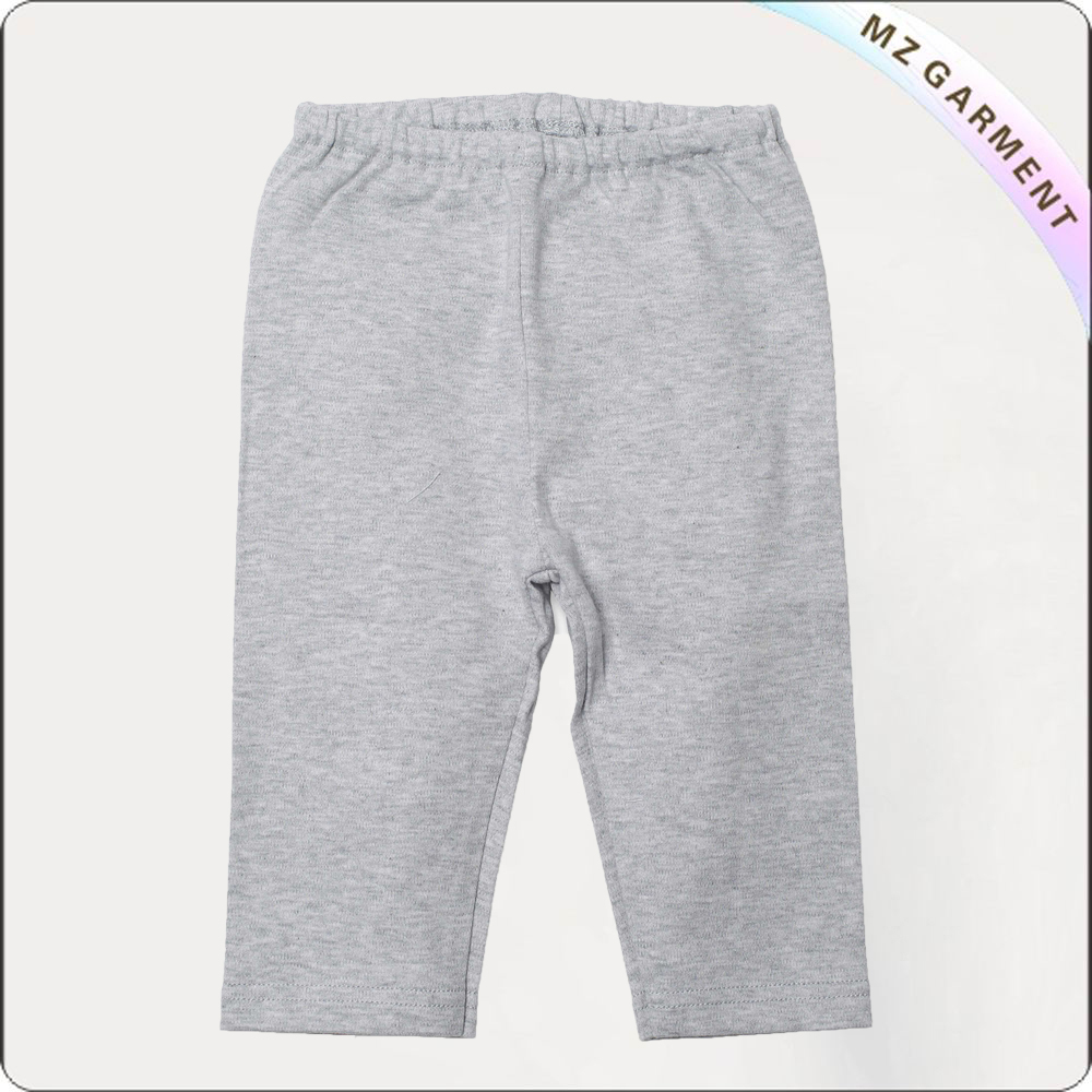 Girls Soft Textile Knee Trousers