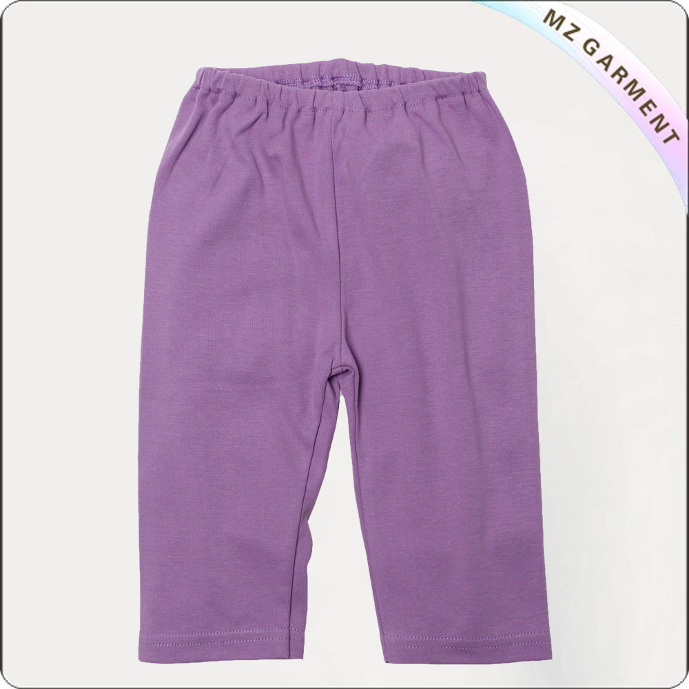 Toddler Lilac Cropped Pants
