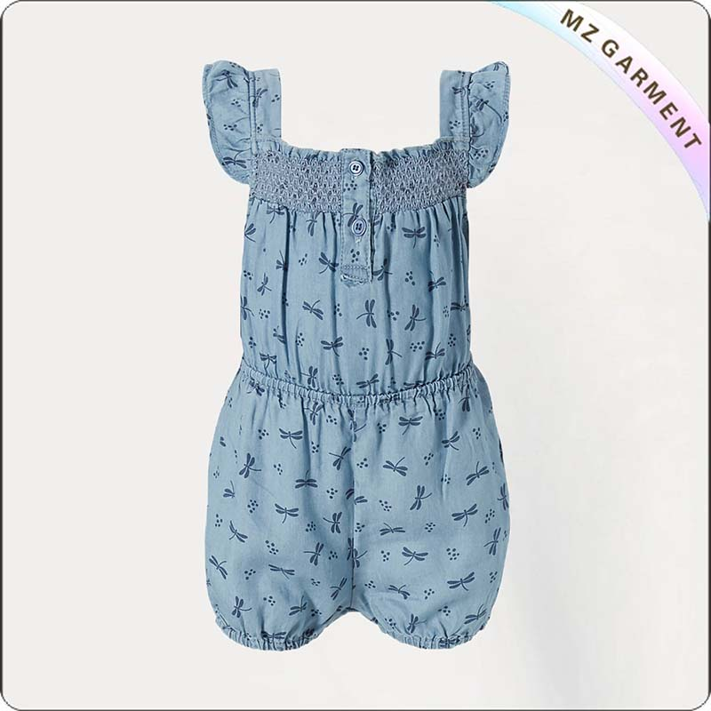 Girls Dragonfly Snapsuit