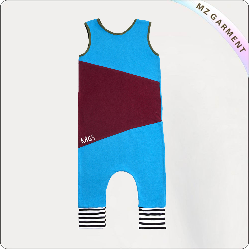 Boys Azure Playsuit