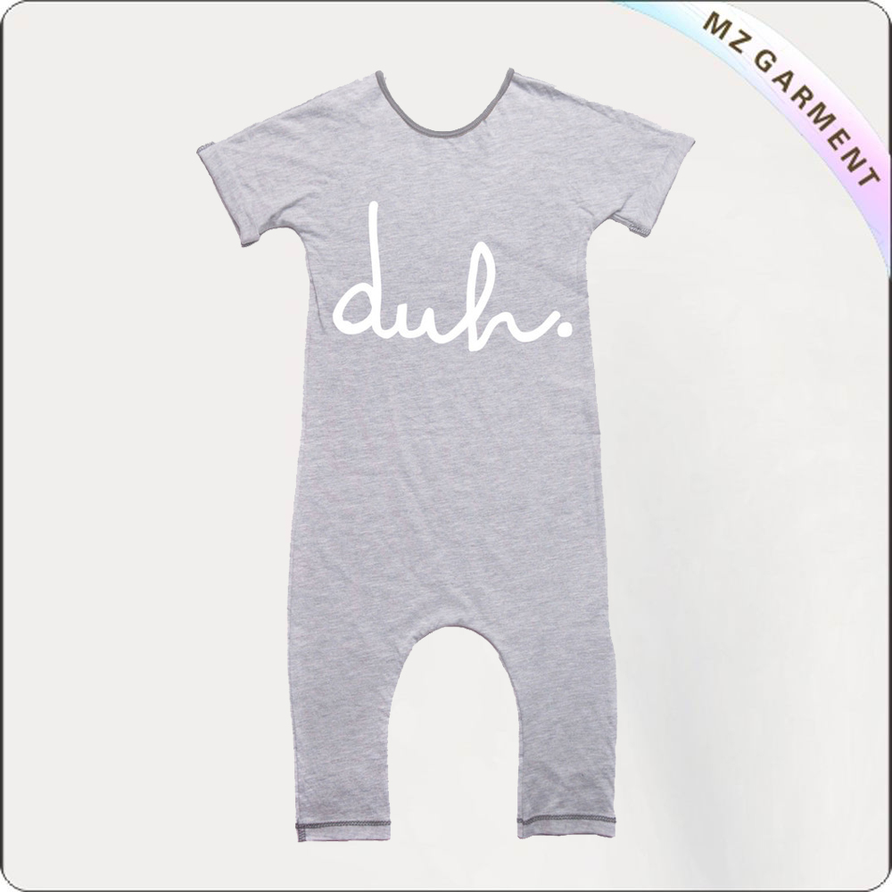 Kids Ash Grey Romper